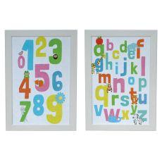 Alphabet 123 Set 2 Framed Print