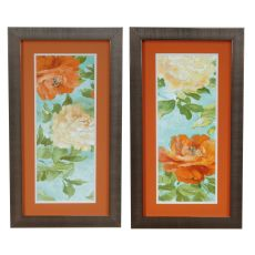 Orange Delight Framed Print