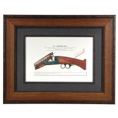 Antique Pistol 2 Framed Print