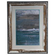 Sea Wall 1 Framed Print