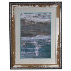 Sea Wall 2 Framed Print