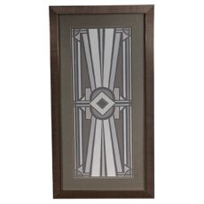 Deco Panel 2 Framed Print