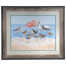 Seabird Summit Framed Print