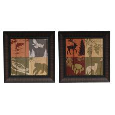 Lodge  Four Pack 1&2 (Pair) Framed Print