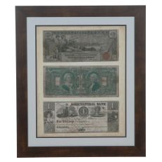 Antique Currency 5 Domestic Wall Art