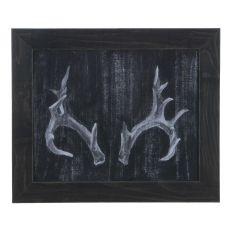 Rustic Antlers 2 Domestic Wall Art