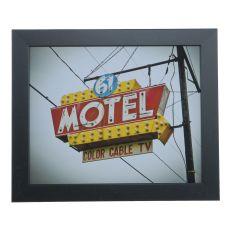 Vintage Motel 6 Domestic Wall Art