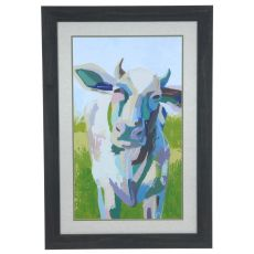 Paintercy Cow 2 Framed Print