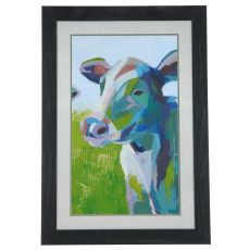 Paintercy Cow 3 Framed Print