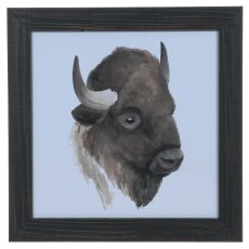 Animal Study (Buffalo) Framed Print