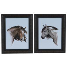 Wild Horse 1&2 (Set) Framed Print