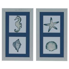 Sea Medley (Set) Framed Print