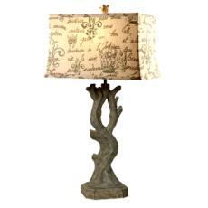 Beach Wood Table Lamp