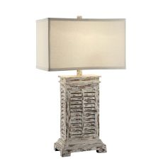 Antique Shutter Table Lamp