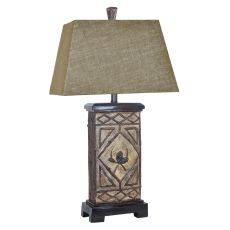 Pinecone Lodge Table Lamp