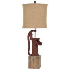Antique Pump Table Lamp
