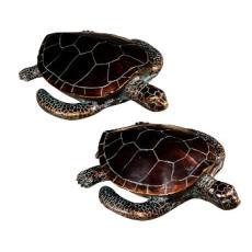 Sheldon Turtle Statues S/2