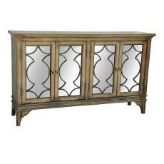 Wyndham 4 Door Wood & Veneer Sideboard