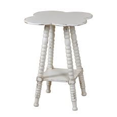 Clover Shaped Accent Table