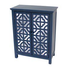 Indigo 2 Door Mirrored Cabinet