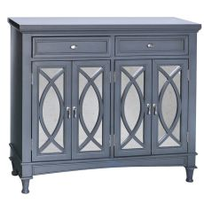 Park Avenue Grey & Mirror Sideboard