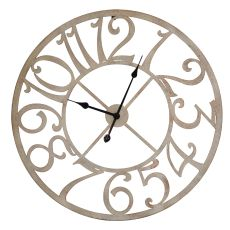 Round Time Clock