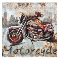 Motorcycle Metal Wall D