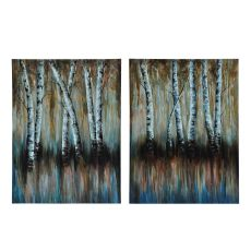 Double Birch Wall D