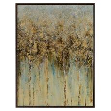 Golden Leaves Canvas