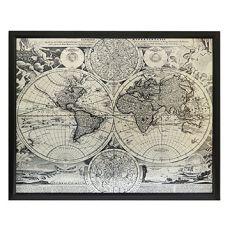 World Map Wall D