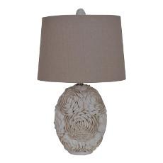 "Calypso Shell Table Lamp 24.5""Ht"