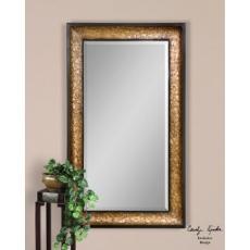Antiqued Capiz Shell Frame Mirror