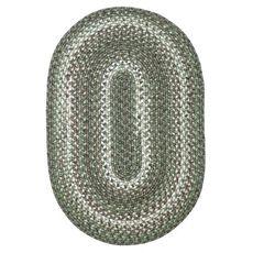 "Homespice Decor 20"" x 30"" Oval Cedar Ridge Ultra Durable Braided Rugs"
