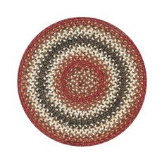 "Homespice Decor 15"" Trivet Round Chester Jute Braided Accessories"