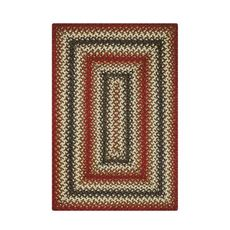 Homespice Decor 4' x 6' Rect. Chester Jute Braided Rug