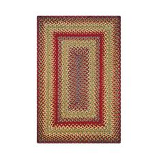 Homespice Decor 5' x 8' Rect. Cider Barn Jute Braided Rug