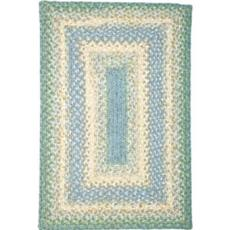Baja Blue Cotton Braided Rug