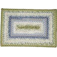 SeaScape Rectangle Cotton Braided Rug