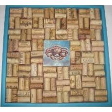 Crab Tile II Cork Bulletin Board Craft Kit