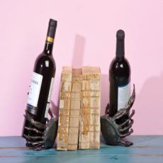 Metal Crab Bookend and Bottle Holder  S/2