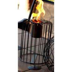 Cylinder Metal Firekeeper Lantern
