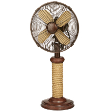 Decorative Tabletop Fan - Darby