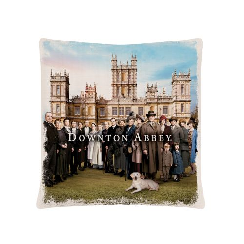 Downton Cast 18X18 Pillow, Oyster