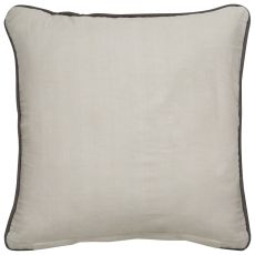 """Modern/Contemporary Pattern Ivory/White Cotton Down Fill Pillow ( 18""""X18"""")"""
