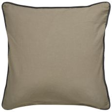 """Modern/Contemporary Pattern Taupe/Gray Cotton Down Fill Pillow ( 18""""X18"""")"""