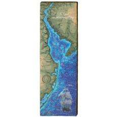 Delaware Bay Chart Wood Wall Art