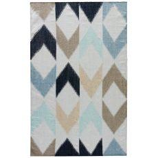 Tribal Pattern Polyester Desert Area Rug
