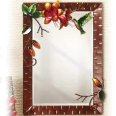 Large Wall Mirror - Hummingbird