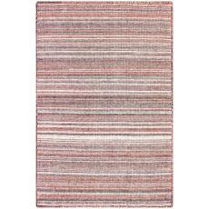 """Liora Manne Dakota Stripe Indoor/Outdoor Rug Brick 24""""X36"""""""