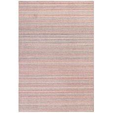 """Liora Manne Dakota Stripe Indoor/Outdoor Rug Brick 5'X7'6"""""""